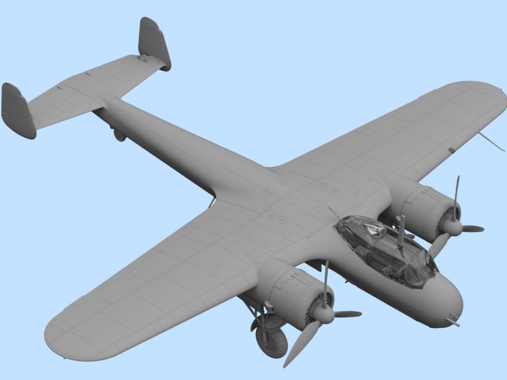 Do 17Z-7, WWII German Night Fighter  (Vista 3)