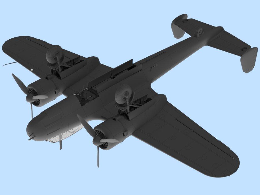 Do 17Z-7, WWII German Night Fighter  (Vista 4)