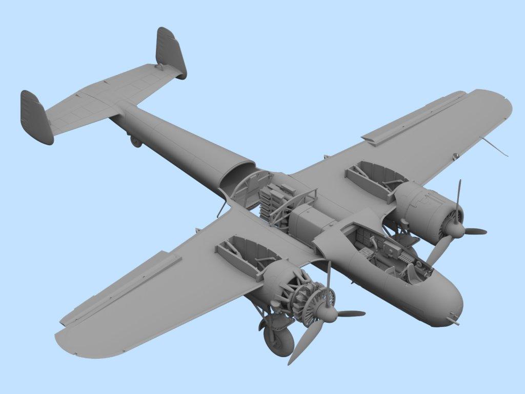 Do 17Z-7, WWII German Night Fighter  (Vista 5)