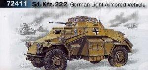 Vehiculo Blindado Aleman Sdkfz.222  (Vista 1)