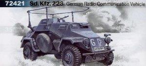 Radiocomunicaciones Aleman Sd.Kfz. 223  (Vista 1)