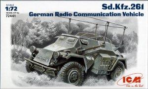 Vehiculo de Radiocomunicaciones  Aleman  (Vista 1)