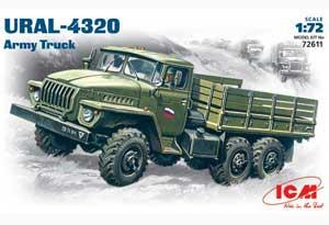 Camión Militar URAL-4320  (Vista 1)