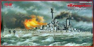 Kronprinz, WWI German Battleship  (Vista 1)