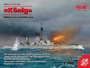 König  WWI German Battleship  (Vista 1)