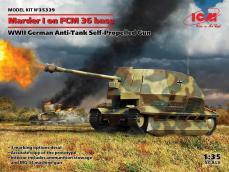Marder I on FCM 36 base, WWII German Anti-Tank Self-Propelled Gun - Ref.: ICMM-35339