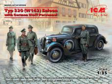 Tipo 320 (W142) Salón con personal alemán - Ref.: ICMM-35539
