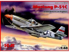 P-51C Mustang USAF - Ref.: ICMM-48121