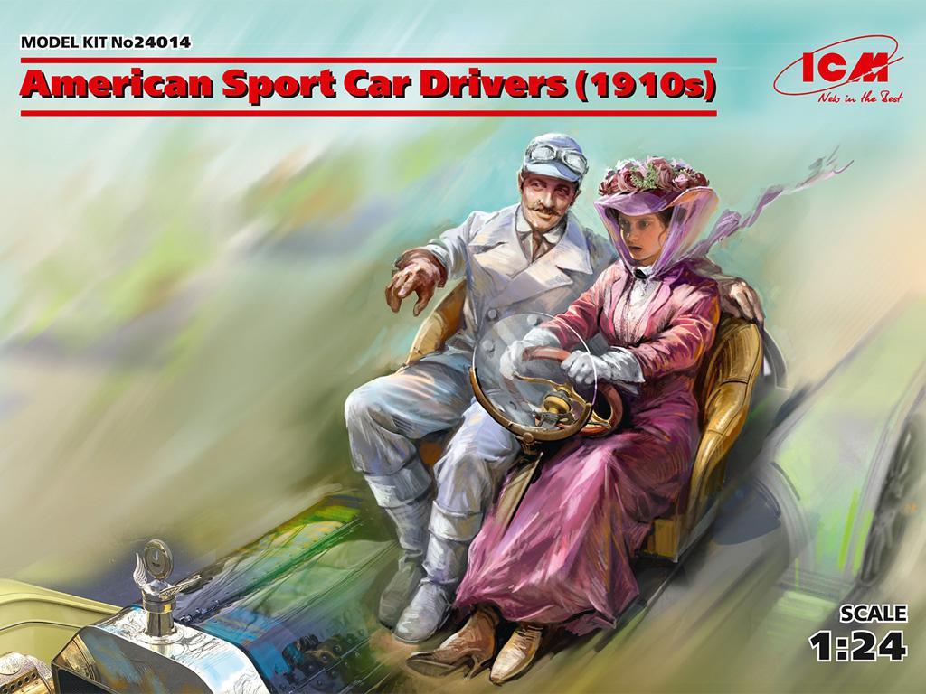 Conductores de Automóviles Deportivos Americanos (Vista 1)
