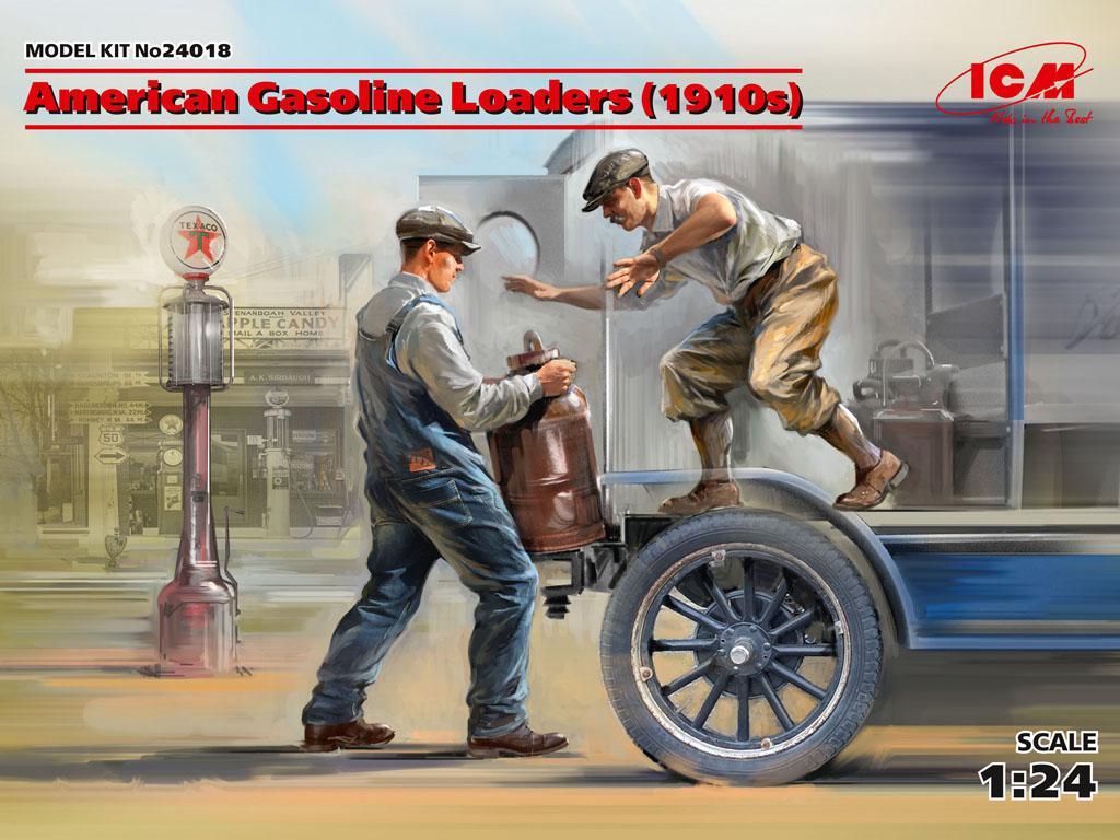 Cargadores de Gasolina Americanos 1910 (Vista 1)