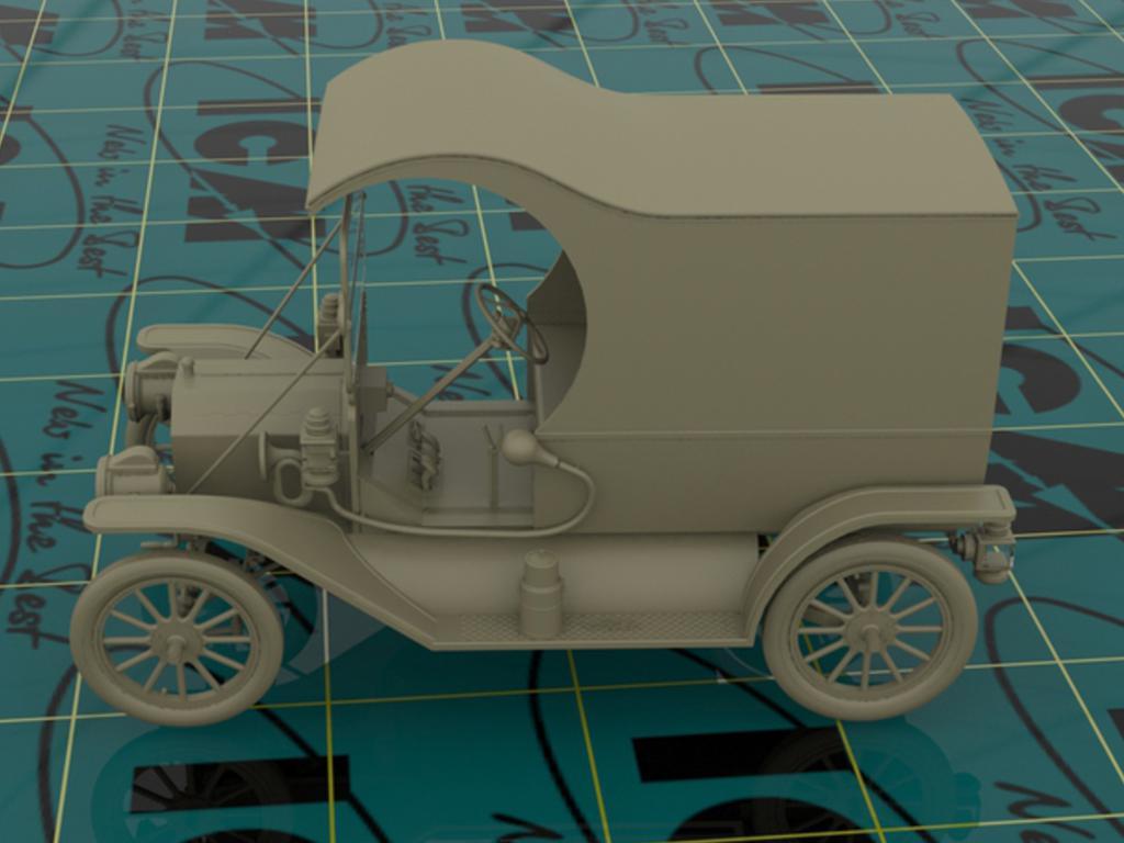Entrega de gasolina, modelo T 1912  (Vista 4)