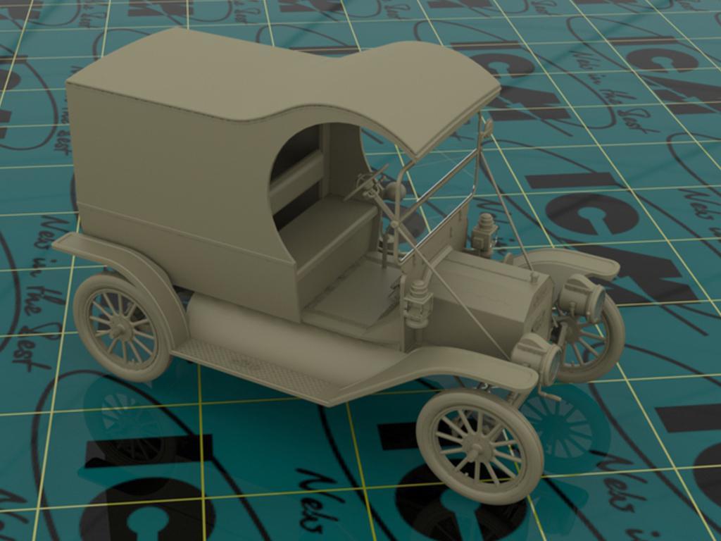 Entrega de gasolina, modelo T 1912  (Vista 6)