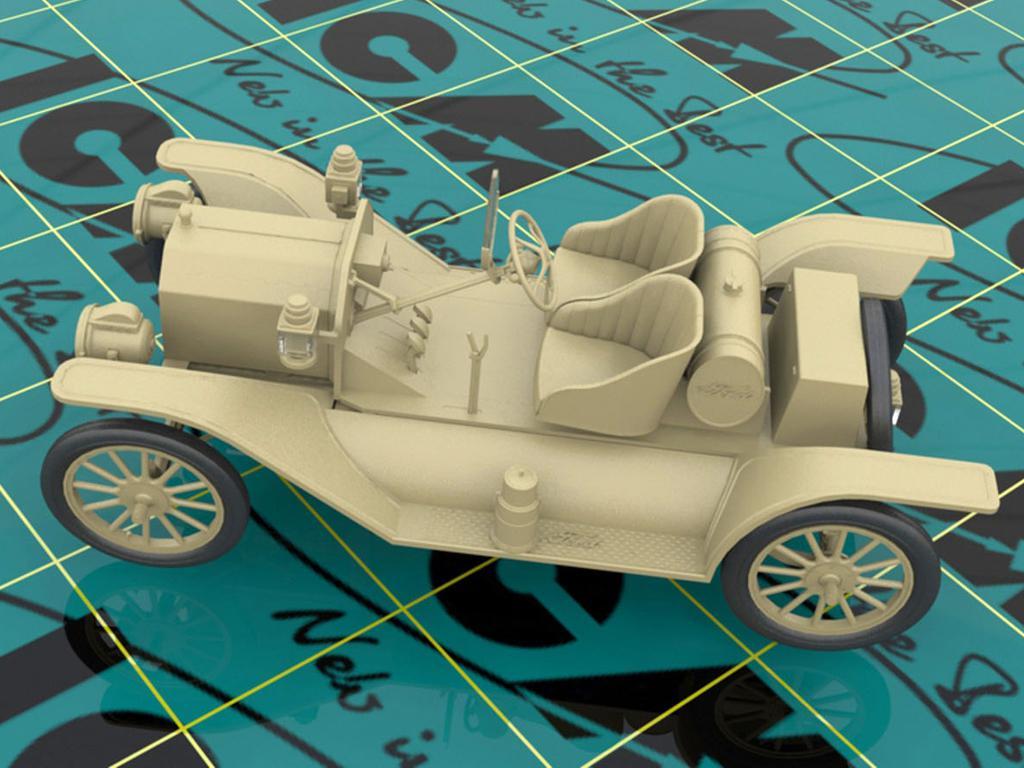 Modelo T 1913 Speedster con conductores (Vista 2)