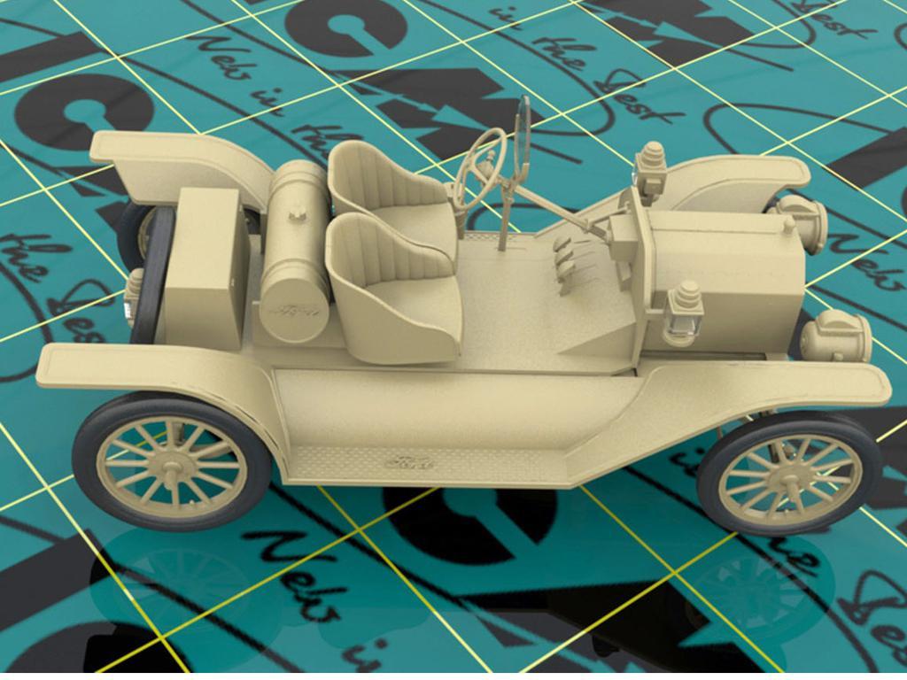 Modelo T 1913 Speedster con conductores (Vista 4)
