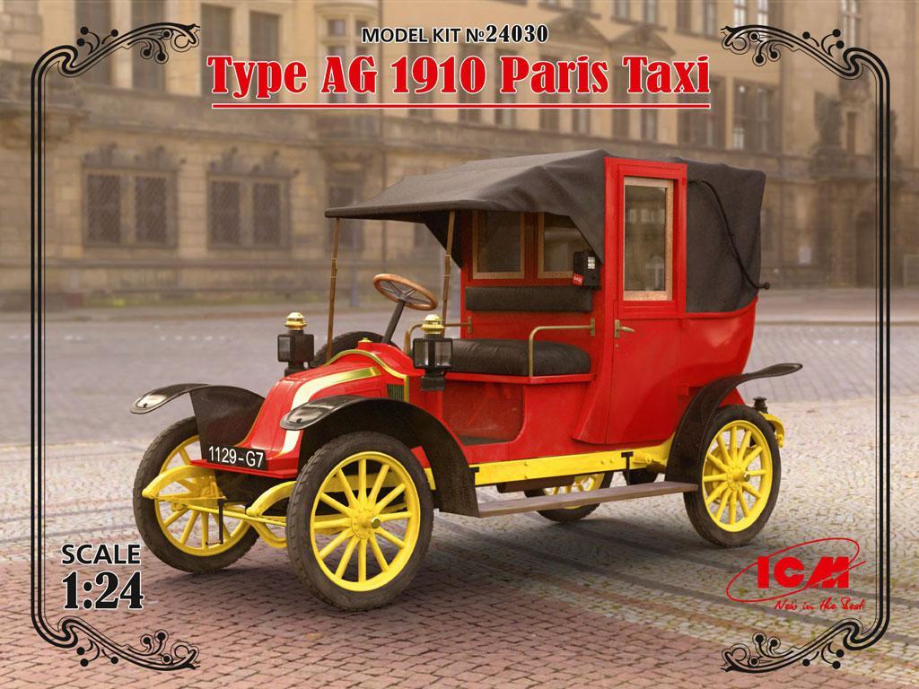 Tipo AG 1910 Paris Taxi (Vista 1)