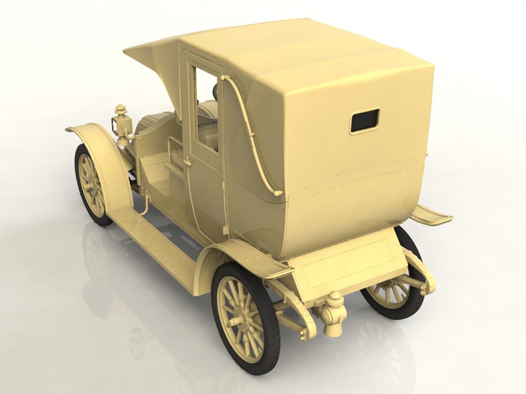 Tipo AG 1910 Paris Taxi (Vista 2)