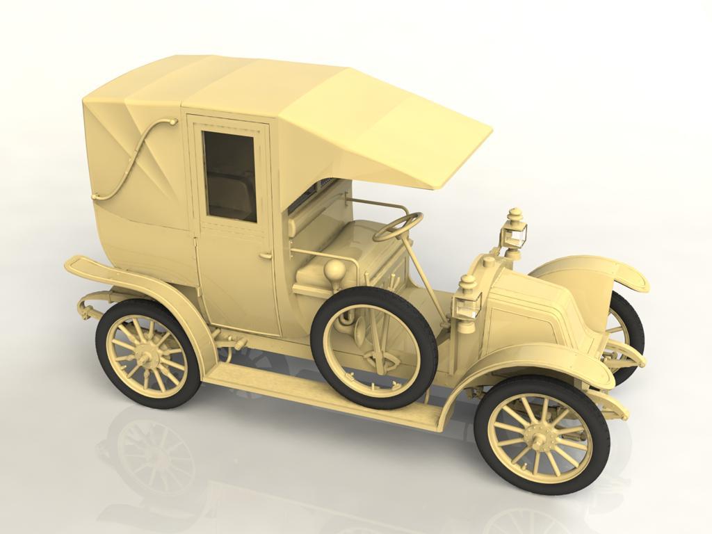 Tipo AG 1910 Paris Taxi (Vista 3)