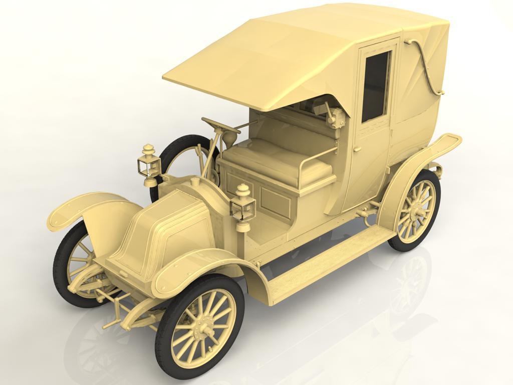Tipo AG 1910 Paris Taxi (Vista 4)