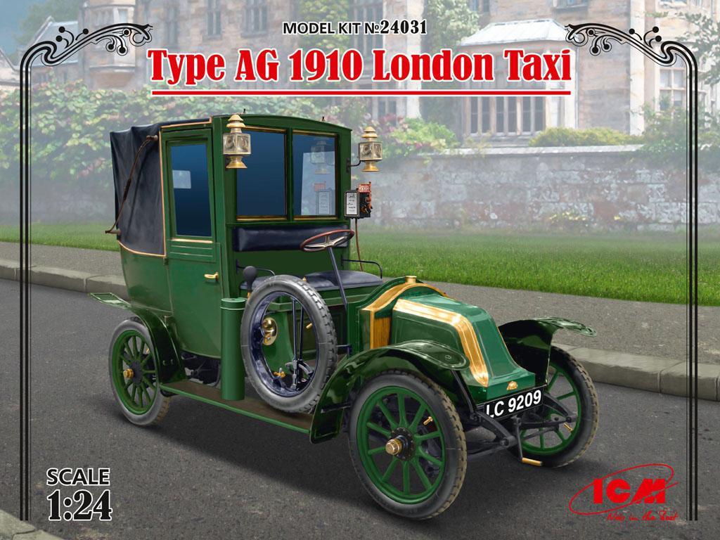 Type AG 1910 London Taxi (Vista 1)