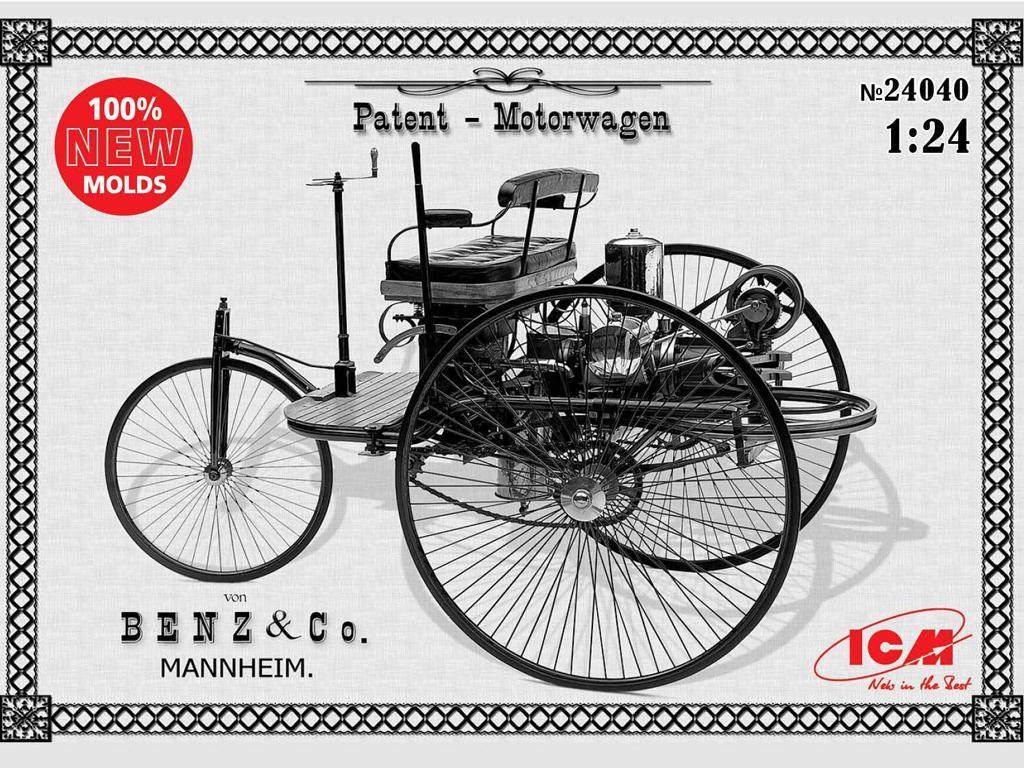 Benz Patent-Motorwagen 1886 (Vista 1)