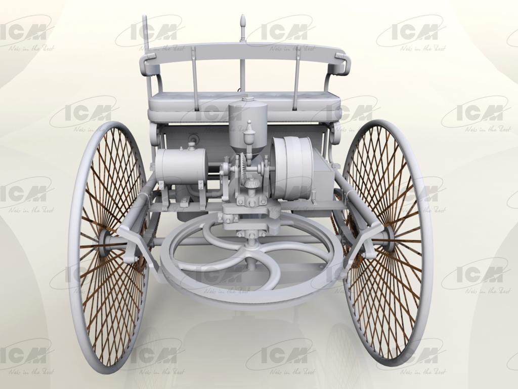 Benz Patent-Motorwagen 1886 (Vista 3)