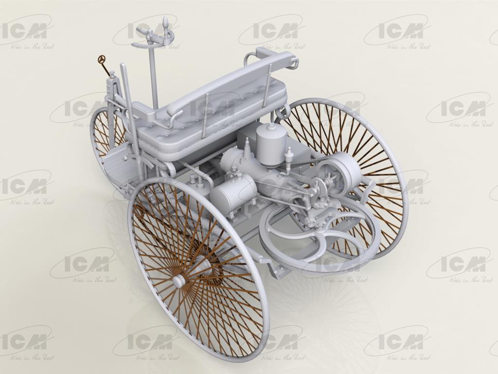 Benz Patent-Motorwagen 1886 (Vista 4)