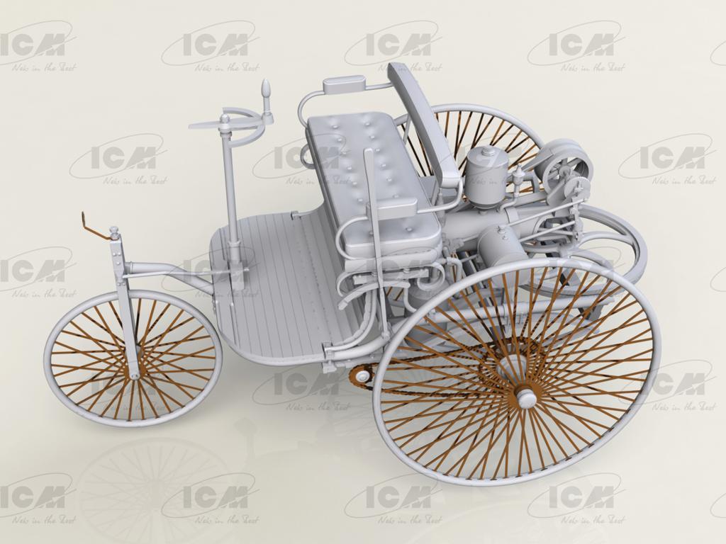 Benz Patent-Motorwagen 1886 (Vista 5)