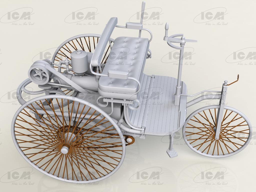 Benz Patent-Motorwagen 1886 (Vista 6)