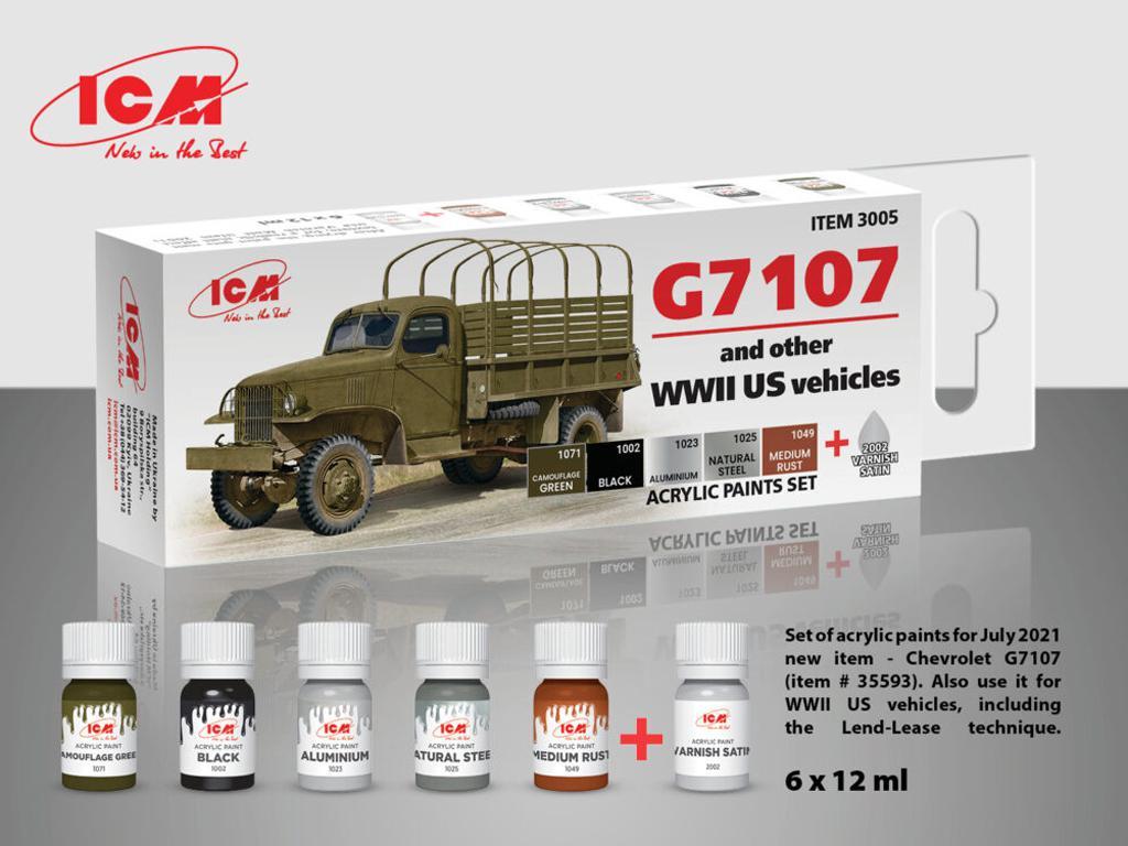 Set de pintura acrílica para G7107 (Vista 1)