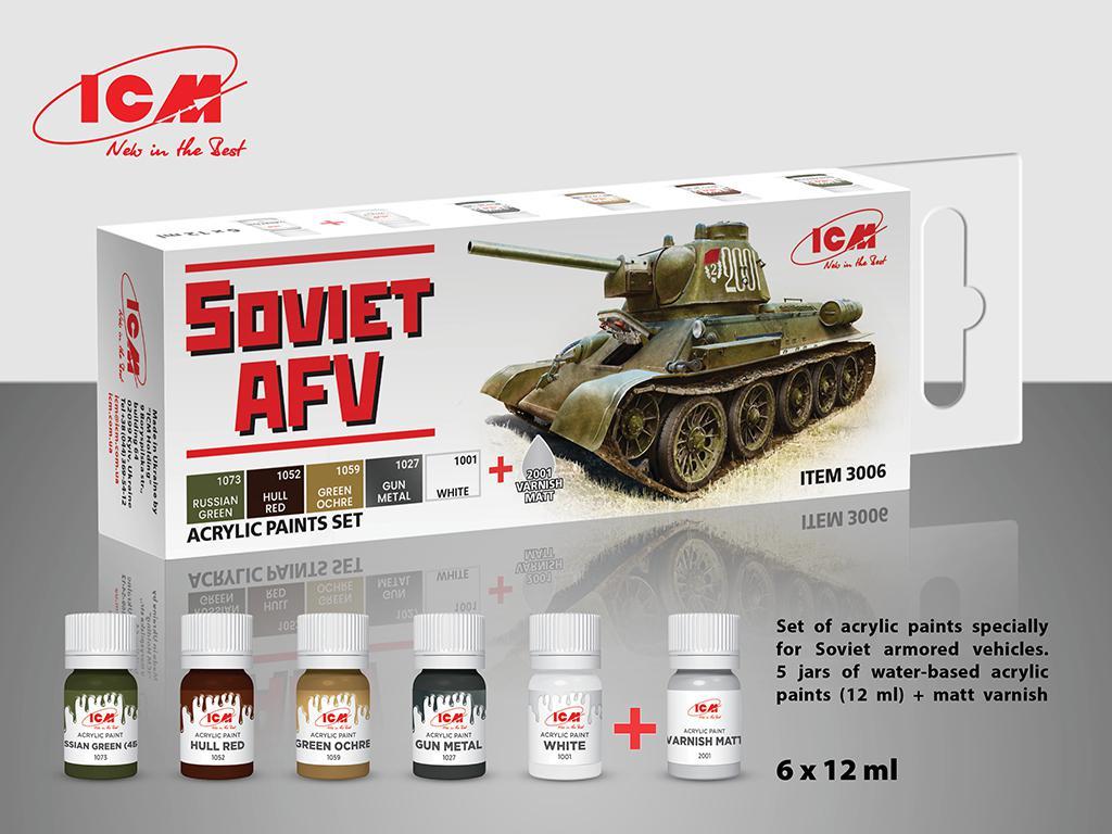 Set para vehículos blindados Soviéticos (Vista 1)