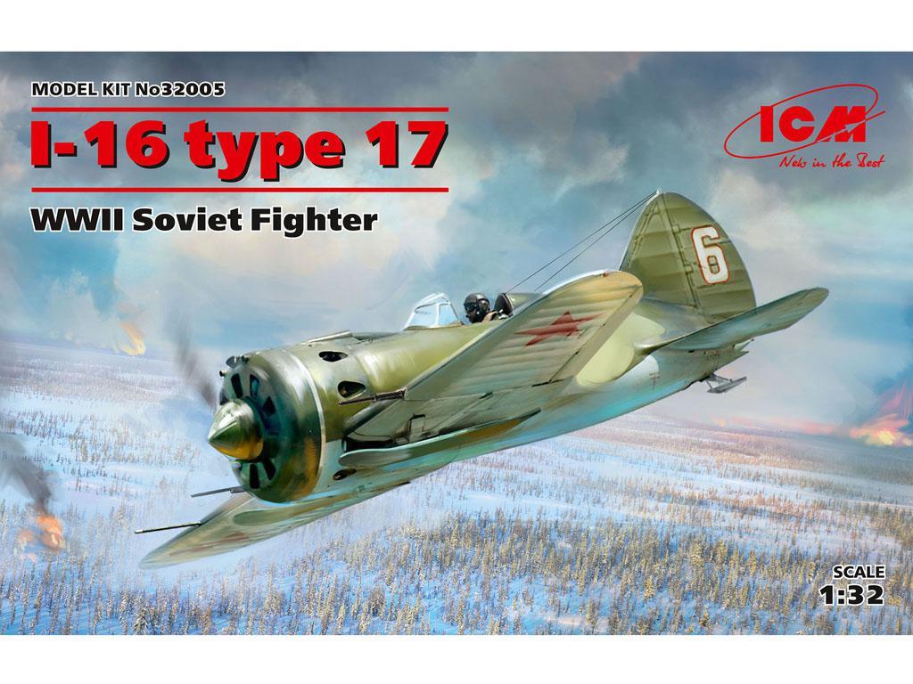 I-16 type 17, WWII Soviet Fighter (Vista 1)