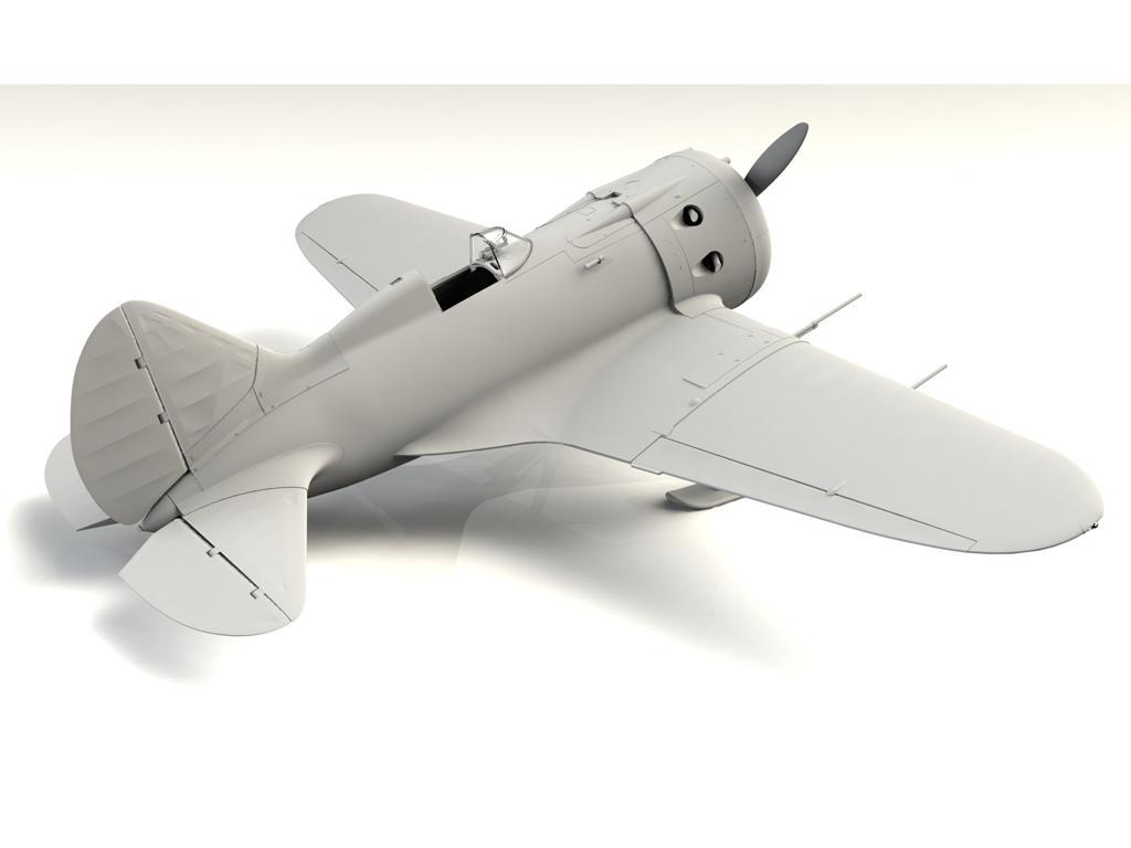 I-16 type 17, WWII Soviet Fighter (Vista 4)