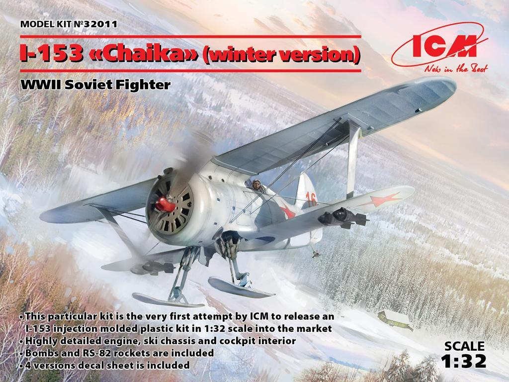 I-153 Soviet Fighter (Vista 1)