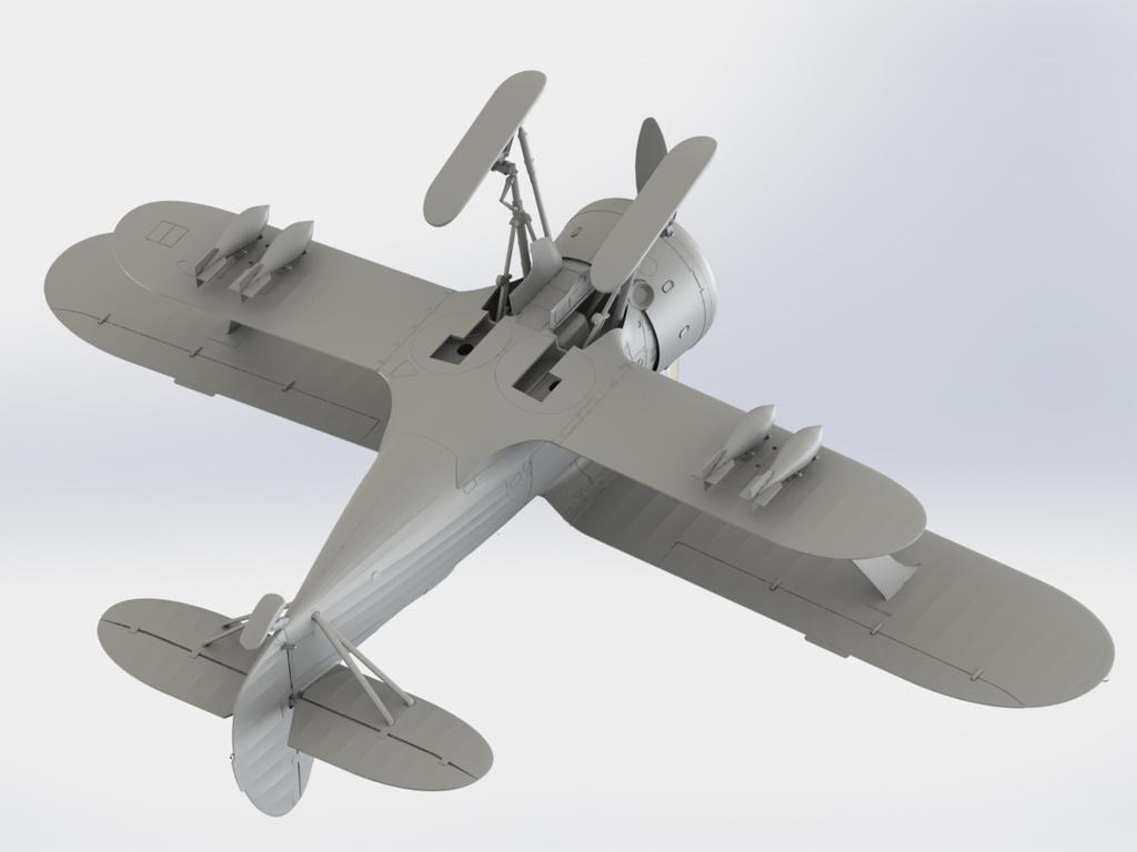 I-153 Soviet Fighter (Vista 2)