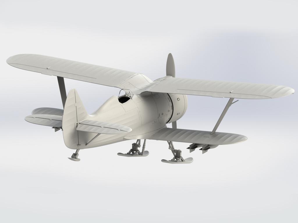 I-153 Soviet Fighter (Vista 3)