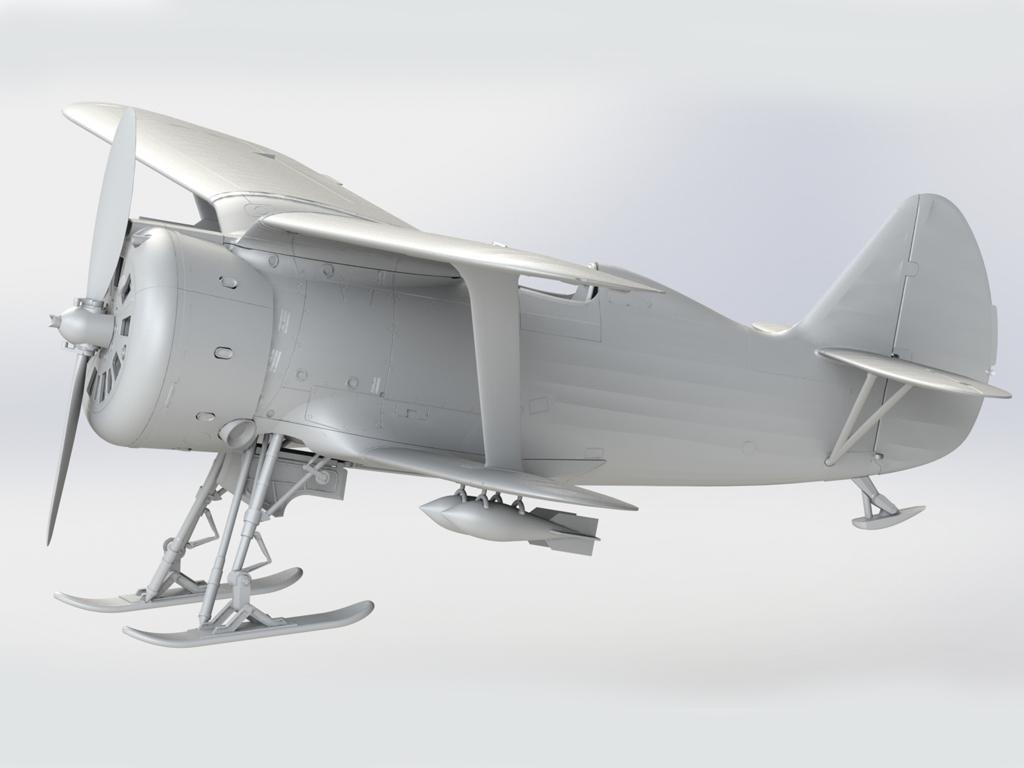 I-153 Soviet Fighter (Vista 4)