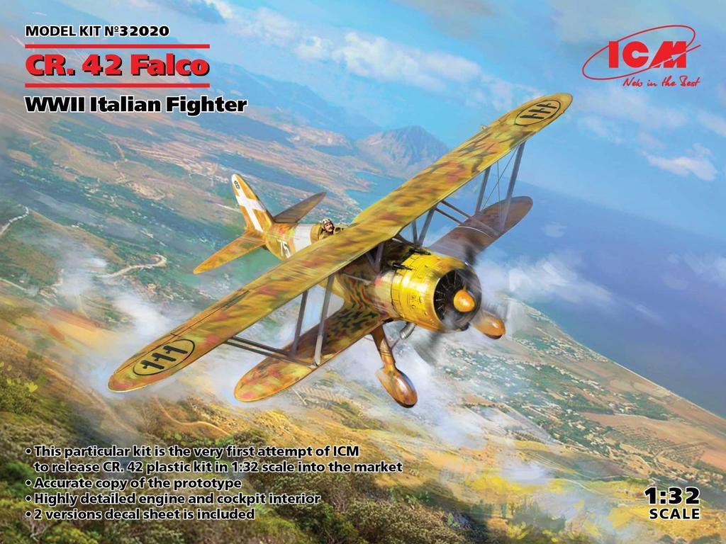CR. 42 Falco, Italian Fighter (Vista 1)