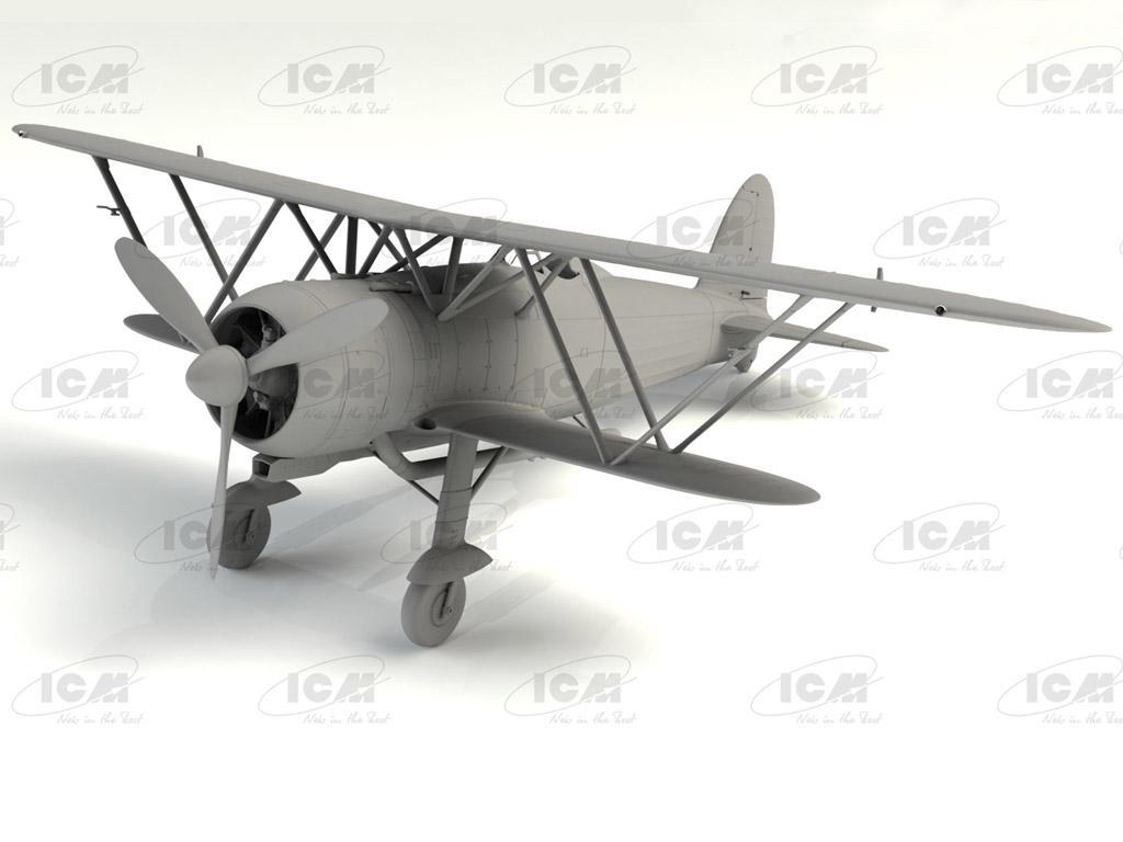 CR. 42 Falco, Italian Fighter (Vista 3)