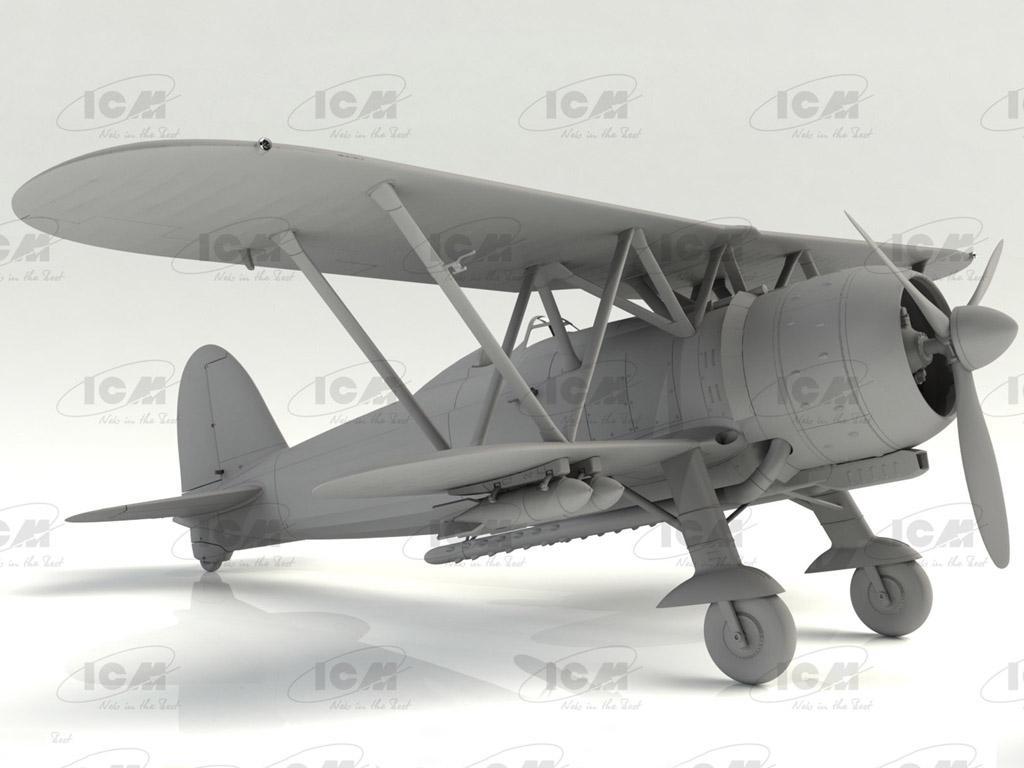 CR. 42 Falco, Italian Fighter (Vista 4)