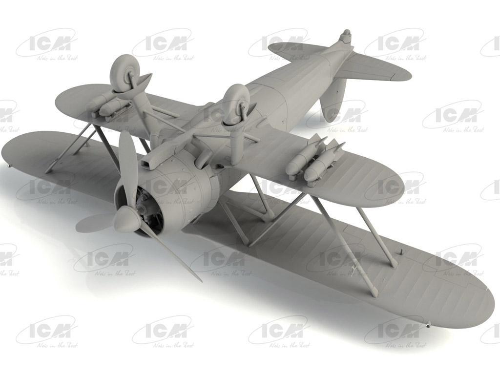 CR. 42 Falco, Italian Fighter (Vista 5)