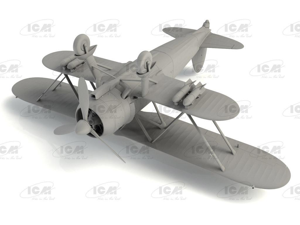 CR. 42 LW , WWII German Luftwaffe Ground Attack Aircraft (Vista 2)