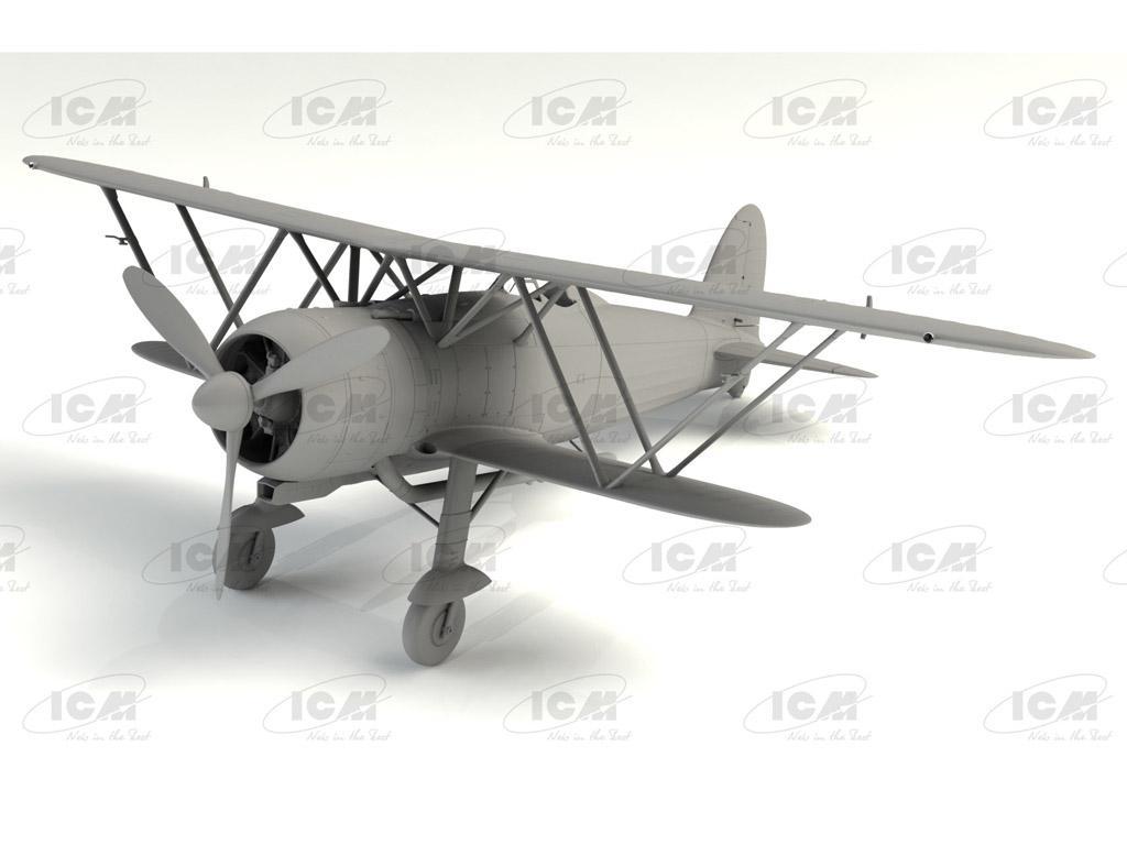 CR. 42 LW , WWII German Luftwaffe Ground Attack Aircraft (Vista 3)