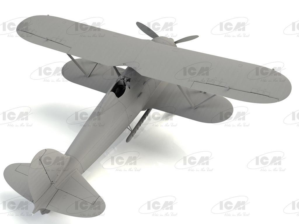 CR. 42 LW , WWII German Luftwaffe Ground Attack Aircraft (Vista 4)