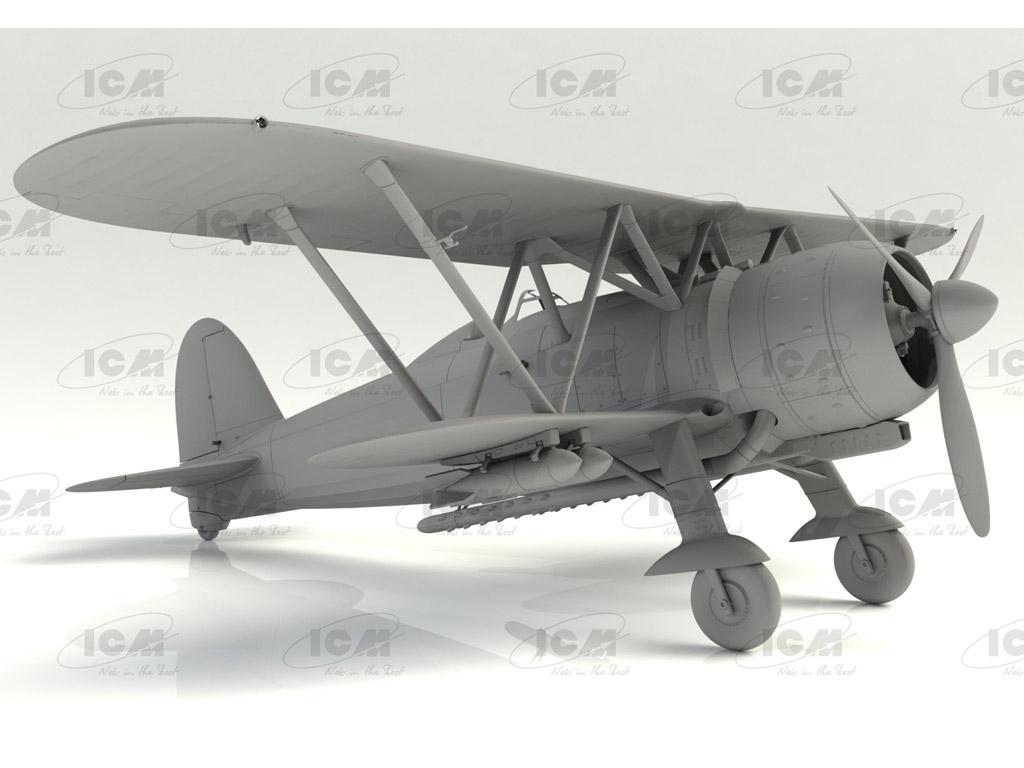 CR. 42 LW , WWII German Luftwaffe Ground Attack Aircraft (Vista 5)