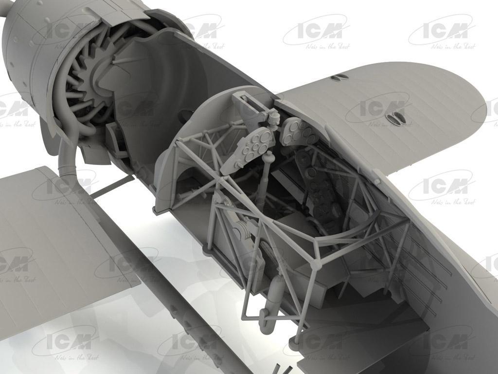 CR. 42 LW , WWII German Luftwaffe Ground Attack Aircraft (Vista 6)