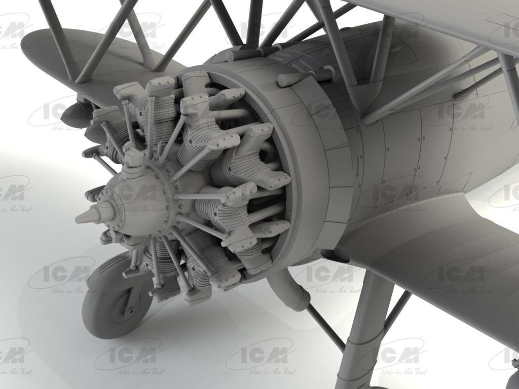 CR. 42 LW , WWII German Luftwaffe Ground Attack Aircraft (Vista 7)