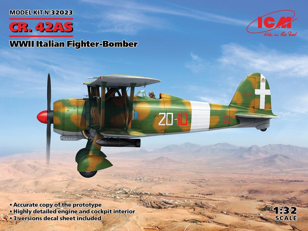 CR. 42AS, Italian Fighter-Bomber (Vista 1)