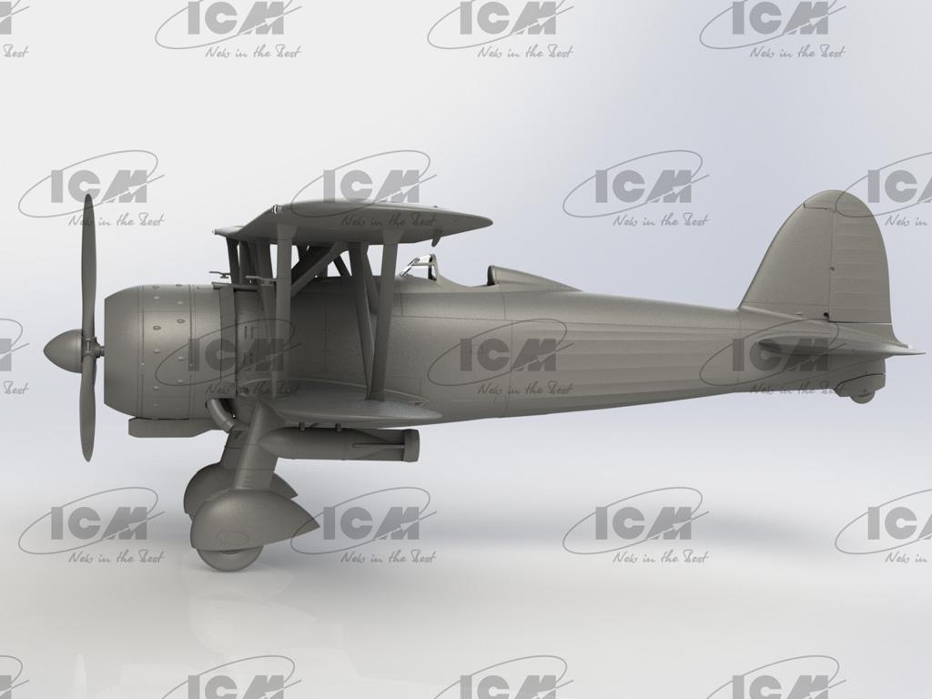 CR. 42AS, Italian Fighter-Bomber (Vista 3)