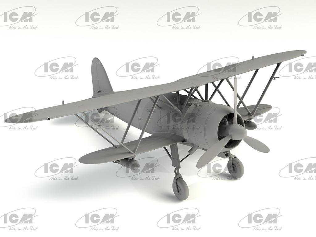 CR. 42AS, Italian Fighter-Bomber (Vista 4)