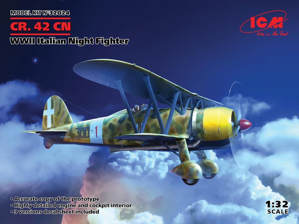 CR.42CN, WWII Italian Night Fighter (Vista 1)